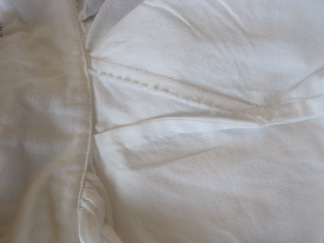 inside of shoulder gusset